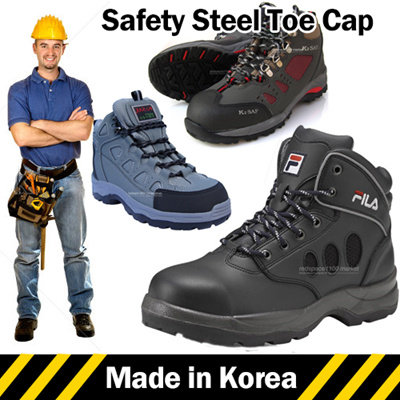 4b2789eb05c Qoo10 - ☆Made in Korea☆ Mens Safety Shoes Safety boots Safety Work boots  Steel...   Men s Bags   Sho.