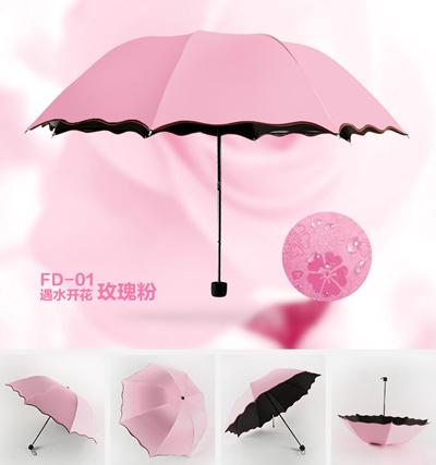 qoo10 magic blossom flowers cute umbrella with uv protection