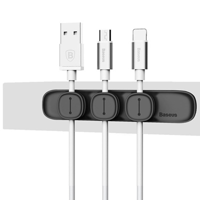 Qoo10 - Magnetic Cable Clips Cable Holder Desktop Cable Clip Cord ...