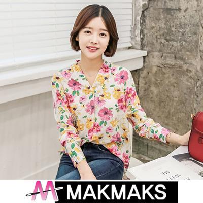 d1e713d987aed  KOREA NO.1 MAKMAKS NEW ARRIVAL Women Fashion LOVELY BLOUSE FRILL
