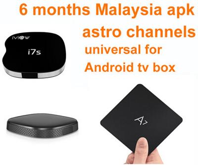Malaysia Myiptv renew account myiptv Astro IPTV apk 6 month for all android  tv box