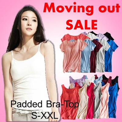 7b56e4d520dbd Padded Bra-Top comfortable modal material Camisoles T-shirt Tank-top  Sleepwear Nursing