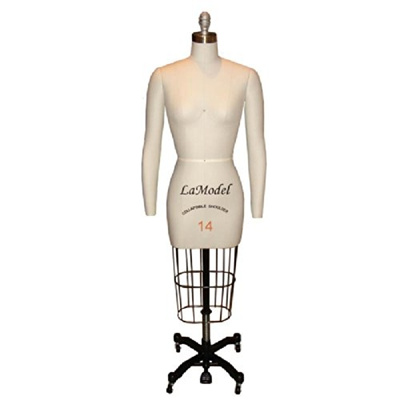 Qoo10 - Mannequin Professional Dress Form Collapsible Shoulders ...