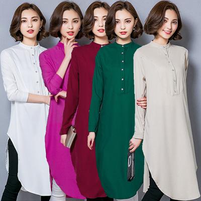ef8f1811e6 Qoo10 - [Mar.27 update]2018 New Loose Fit Blouse Top Muslim ladies muslim  blo... : Women's Clothing