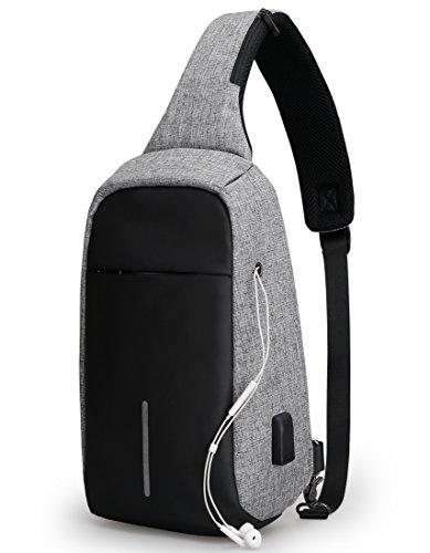 365a5cd2ed Qoo10 - MARK RYDEN Anti Theft Sling Bag Shoulder Chest Cross Body Backpack  Lig...   Men s Bags   Sho.