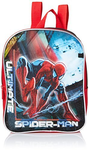 Qoo10 - Marvel Boys Spiderman Mini Backpack with Utility Case   Kids Fashion af27e8125cd78