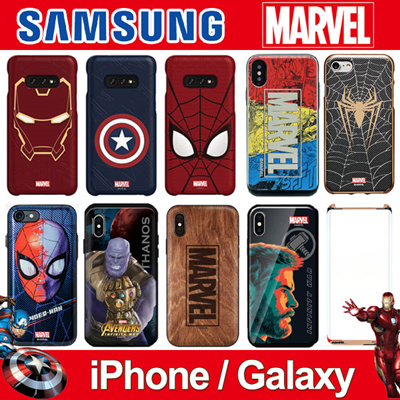 MARVEL CASE COLLECTION ★ IPHONE / GALAXY ★ SAMSUNG Smart Cover Galaxy S10 ★  SPIDER MAN / IRON MAN