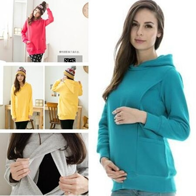 d087952dbd Qoo10 - Maternity clothes Nursing tops Winter Sweater Breastfeeding Tops  Mater...   Women s Clothing