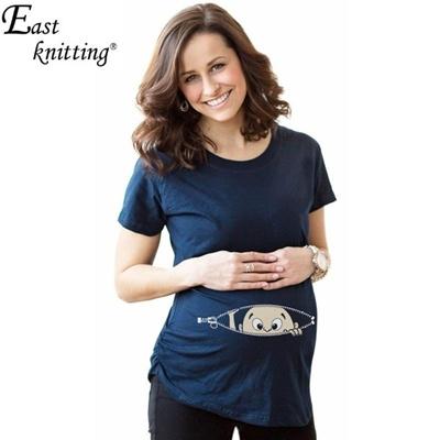 b946099fc Qoo10 - Maternity Shirt Styles Funny T-shirt Fashion gravida Top Pregnancy  Cl... : Women's Clothing