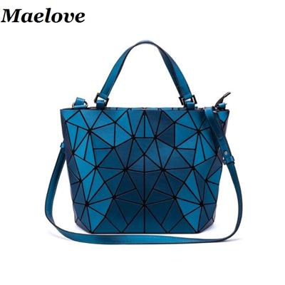 Qoo10 - Matte Color Geometric bag Women Handbag Geometry Diamond Shopping  Bag...   Bag   Wallet 19df74b1e3ac3