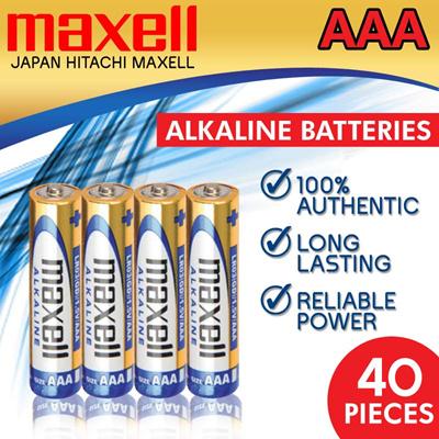 Qoo10 - Maxell AAA Batteries : Small Appliances