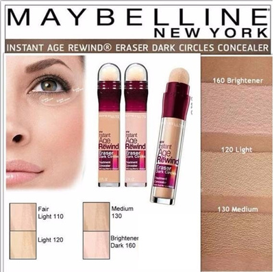 c47d1f91a06c Maybelline Instant Age Rewind Eraser Dark Circles Treatment Concealer - New  Shade Available