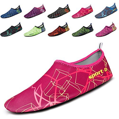2270115e2d Qoo10 - MAYZERO Mens Womens Water Skin Shoes Quick Dry Aqua Socks Barefoot  Sho...   Sports Equipment