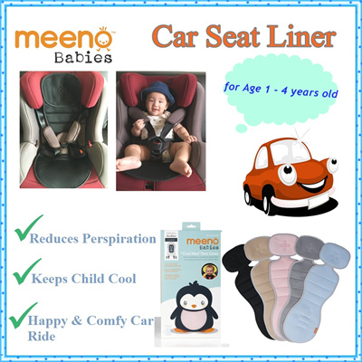 Meeno Babies Baby Car Seat Liner Stroller USA Cooling Mat Playmat