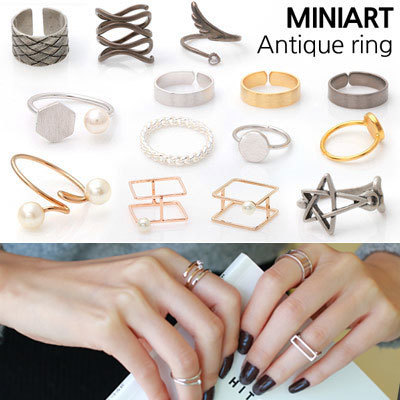 efd663f5eb7 ☆MEGA SALE☆Unisex Size adjustable coupling Fashion Ring Accessories Jewelry