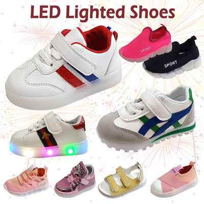 1e12cbb04 [MEGASALE]☆LED LIGHT KIDS SHOES SANDALS SPORTS SNEAKERS☆1-6Y BOYS