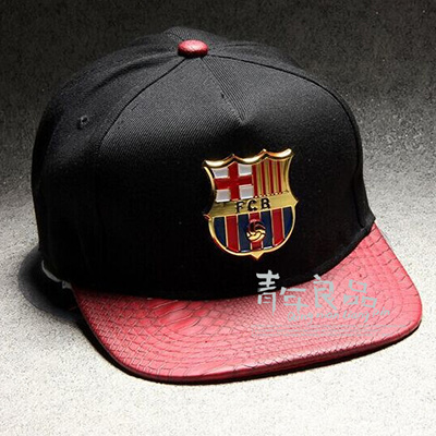 Qoo10 - Mei Xixi armour metal football Hat Barcelona flat along the hip hop  ha...   Fashion Accessor. 81fd93750c1