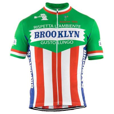 Qoo10 - Men Cycling Jersey Green Short Sleeve Brooklyn Cycling Clothing  Summer...   Women s Clothing b4342d2aa