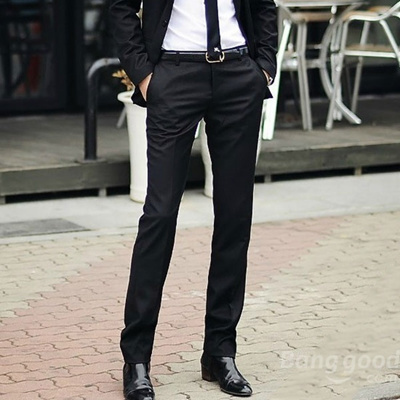 1c87ac2941f Qoo10 - Men s Slim Fit Business Dress Pants Casual Suit Pants   Men s  Apparel