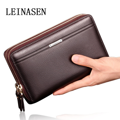 c315aa2df4 Men s wallet phone bag man bag clutch bag leather handbag zipper clutch  Reynardson