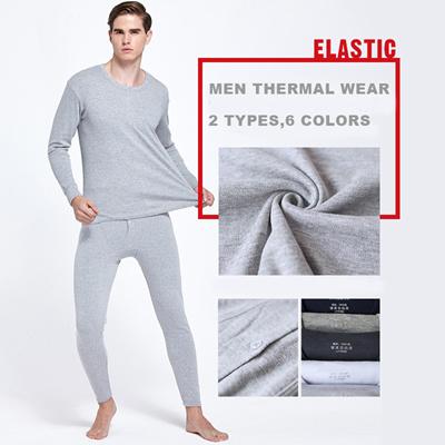 6dc3639709b Men THERMAL inner wear  top and bottom Set  men winter clothes men underwear