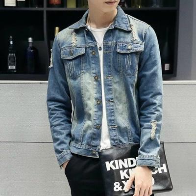 9f13c0c2196 Qoo10 - Mens Casual Jean Jackets Men Winter Military Jeans Coat Outerwear  Ja...   Women s Clothing