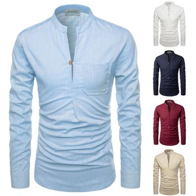 c7466530d48 Qoo10 - Mens Linen Shirts   Men s Apparel