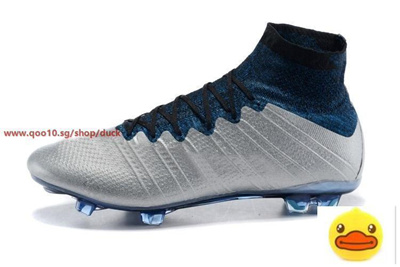 promo code 17c9f 89984 Mens Hot Fashion Outdoor Christiano Ronaldo Superfly FG Soccer Cleats  Football Boots Shoes Grey Col