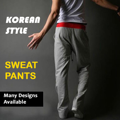 Qoo10 - MENS KOREAN EURO STYLE SWEAT PANTS CASUAL JOGGER DANCE SPORTWEAR HAREM...  Menu2019s Clothing