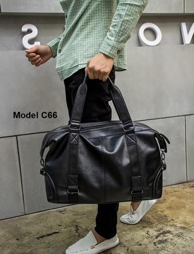 527cc90c2c99 Mens Leather Gym Bag Duffel Sling Waterproof Duffle Travel Weekender  Exercise