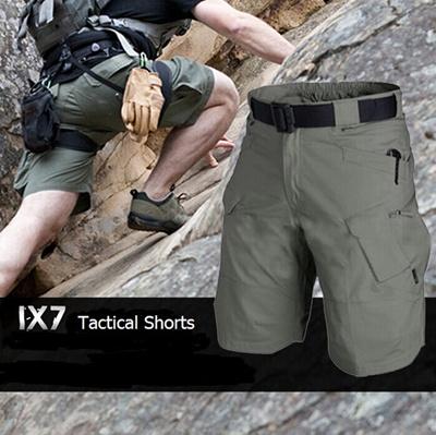 Mens Military Black Sportswear Urban Tactical Shorts Fishing SWAT Training  Airsoft Paintball Hiking