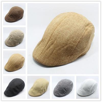 097c757e02 Mens Vintage Herringbone Flat Cap Peaked Racing Hat Beret Country Golf  Newsboy