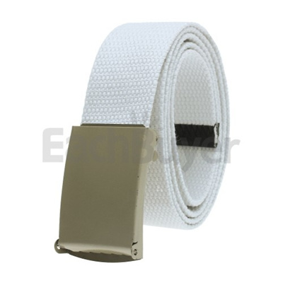 Qoo10 - Mens Webbing Web Military White Canvas Belt Buckle   Mobile  Accessories 95cdf510ffa