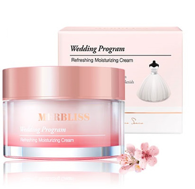 Image result for wedding program refreshing moisturizing cream merbliss