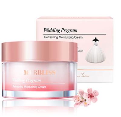 Image result for wedding program refreshing moisturizing cream merbliss