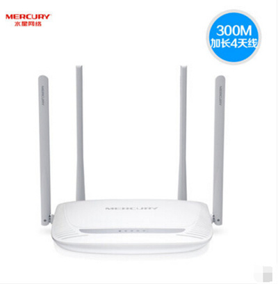 Mercury MW325R home wireless router through the wall Wang WiFi high-speed  broadband fiber optic telecommunications signal amplifier