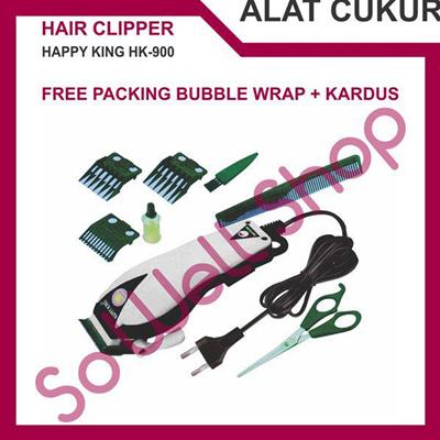 Mesin Alat Cukur Potong Pangkas Rambut Happy King HK-900 Hair Clipper -  Putih 08feebdd78