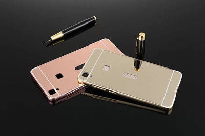 Metal Frame Bumper Case With Mirror Case For Vivo v3 Max/Nokia/Microsoft lumia