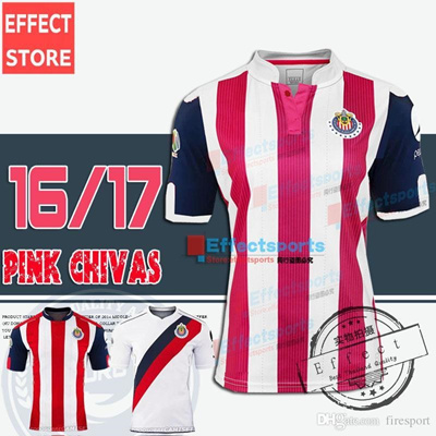 huge discount b0bea 79996 Mexico Chivas de Guadalajara Home 2016 17 A.PULIDO 9 Soccer Jersey  Customized Thai Quality Jerseys P