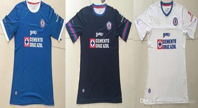 d5bf7993dfa Mexico club Cruz Azul blue white soccer football jersey thai quality 2016-2017  Cruz Azul