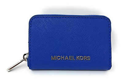 1ab8dc30ce30e9 Qoo10 - Michael Kors Jet Set Travel Credit Card Coin Case Zip Around Wallet  Pu... : Bag & Wallet