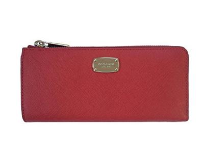 194698799de8 Qoo10 - Michael Kors Jet Set Travel Large Three Quarter Zip Around Leather  Wal... : Bag & Wallet