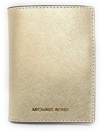 63220666d77b Qoo10 - Michael Kors Jet Set Travel Saffiano Leather Passport Wallet Case  Hold... : Bag & Wallet