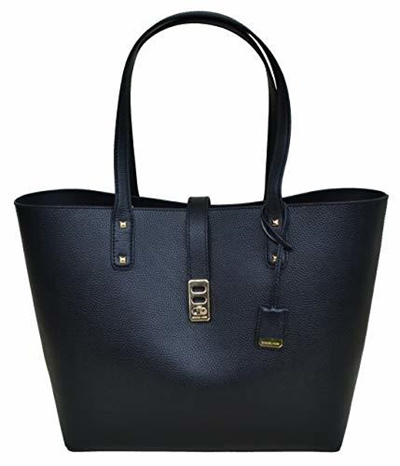 8d3cad93a5db3a Qoo10 - Michael Kors Karson LG Carryall Tote Leather Black (35T8GKRT3L) :  Bag & Wallet