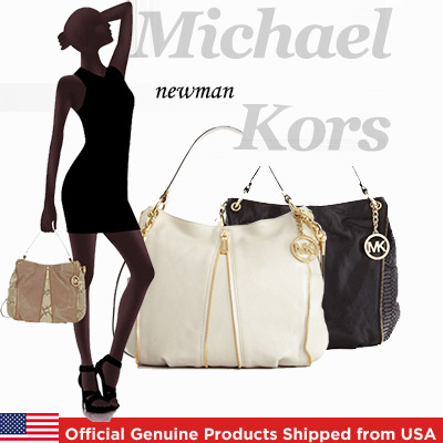 7c5154ef89 Michael Kors Newman Shoulder Bag Official Genuine Products Shipped from USA