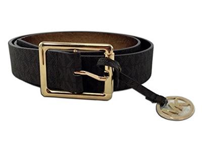 de88cc92bf1 Qoo10 -  MICHAEL KORS  Synthetic Leather Logo Belt
