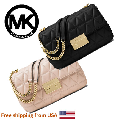 9aae42bb7bf  Michael Michael Kors Sloan Large Quilted-Leather Shoulder Bag