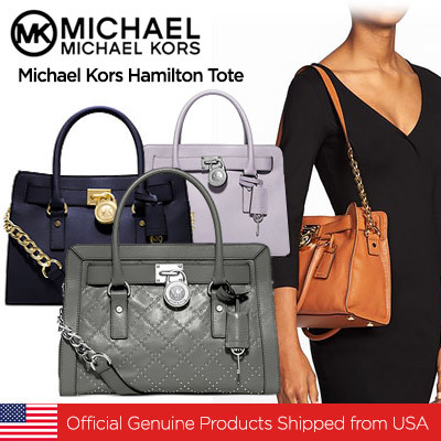 684c163f9fc18a New Arrival Michael Kors Hamilton Tote//Official Genuine Products Shipped  from USA