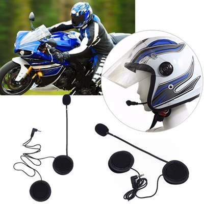 Microphone Speaker Soft Cable Headset Accessory for Motorcycle Helmet  Bluetooth Interphone Intercom