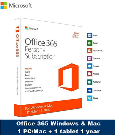 Qoo10 - Microsoft Office 365 Personal 1 Year Subscription for